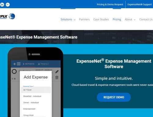InterplX Expense Management Introduces ExpenseNet® 8.0 To Deliver Simplified Enterprise-class Expense Reporting